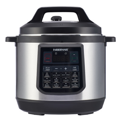 $ CDN87.95 • Buy Programmable Electric Pressure Cooker 8 Quart Instant Cooking Large Pot Instapot