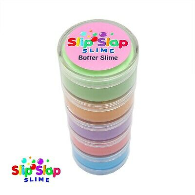 AU15.95 • Buy Butter Slime Gift Pack - 5 Mixed Colours Kids Christmas Toy - Australian Made