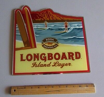 $ CDN31.56 • Buy New Kona Brewing Long Board Lager Acrylic Mirrored Style Beer Sign Not Tin Tap