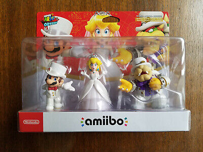 AU149.95 • Buy Amiibo Super Mario Odyssey Wedding 3 Pack BRAND NEW AUS Release VERY RARE