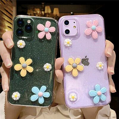 AU10.99 • Buy Fashion Shockproof Case Cute Flower Cover For IPhone 12 Pro Max 11 8 Plus XS XR