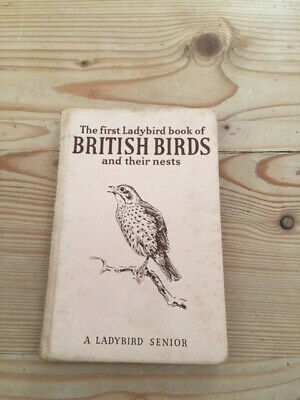 A First Ladybird Book Of British Birds & Their Nests. Fifth Edition 1954 • 4£