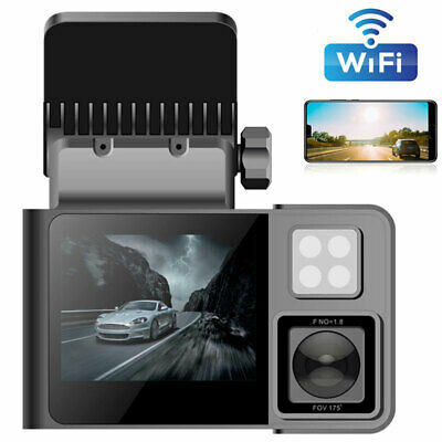 AU104.99 • Buy WIFI Dual 1080P Car DVR Dash Cam Camera Video Record Night Vision For Taxi Uber