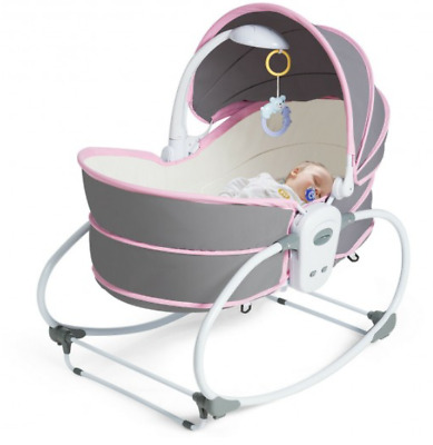 Baby Crib Cot Bed Portable Multi-Functional Canopy Toys Sleeping Travel Bedside • 76.95£
