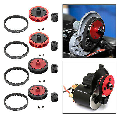 £7.95 • Buy Belt Drive Transmission Gear For 1/10 RC Crawler Axial SCX10 II 90046 Parts