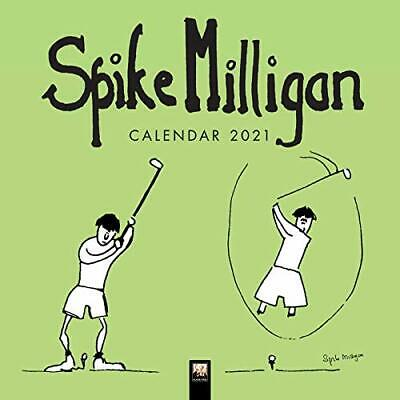 Spike Milligan Wall Calendar 2021 (Art Calendar) New Calendar Book • 6.48£