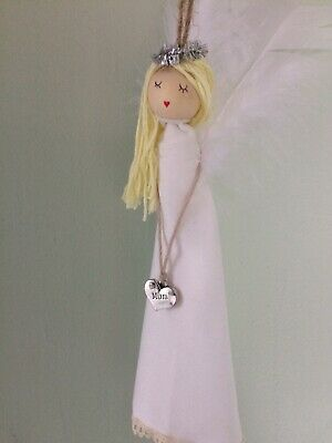 First Holy Communion Gift Angel Personalised Holy Religious • 7.99£