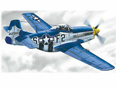 ICM48151 - ICM 1:48 - Mustang P-51D-15 WWII American Fighter • 15.99£