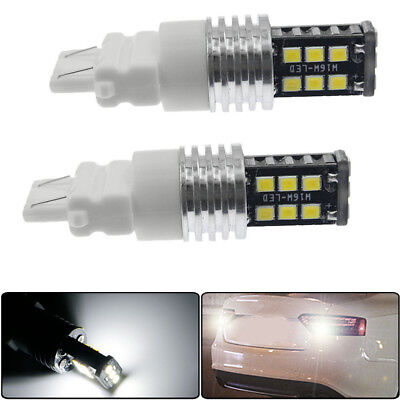 $5.87 • Buy 2Pack 3157 T25 6500K White 3057A 3156 Car LED Bulbs Tail Turn Signal DRL Light