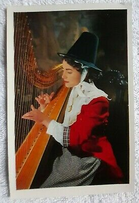 Post Card, Welsh Girl In Welsh National Costume. In Unused Mint Cond, J Salmon  • 2.99£