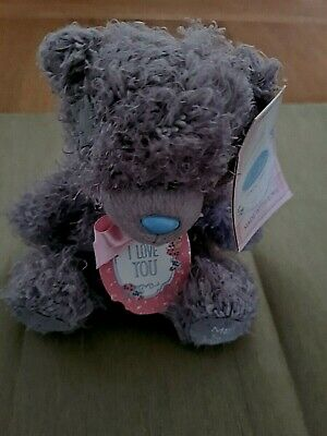 Me To You Tatty Teddy Bear  I Love You  Soft Toy With Tags. • 6.99£