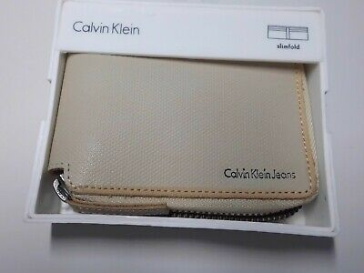£24.95 • Buy Calvin Klein Jeans Slimfold Zip Around Wallet