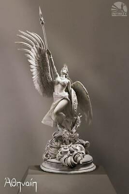 Athena Statue In Grey Greek Goddess Of Wisdom And War Ltd Edition 99 • 999.99£