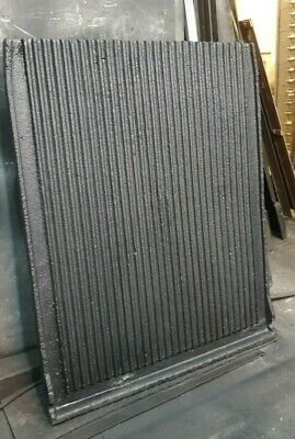 £200 • Buy Cast Iron Reeded Panels, Fire Back, Fireplace Back Panels