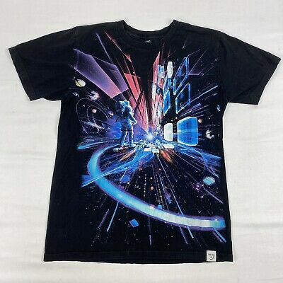 Imaginary Foundation Astronaut In Space Galaxy Universe Tee T Shirt Small S Usa • 8£