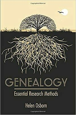 Genealogy: Essential Research Methods Hardcover Book • 15.51£
