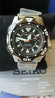 $ CDN514.23 • Buy NOS Seiko SKZ283K1 Superior Starfish Monster Diver Automatic Watch 7S36-04G0