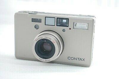 $ CDN2487.10 • Buy  Excellent++ Contax T3 Titanium 35mm SLR Camera *Double Teeth* Silver #4036