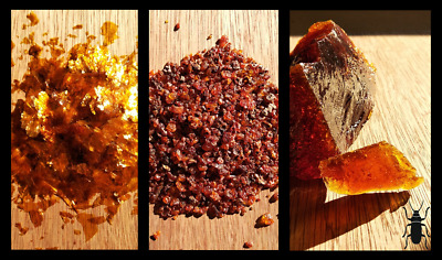 £10 • Buy Golden Flakes Shellac, Seedlac, Dewaxed Shellac Block, Resin, Wood Protection