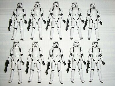 $ CDN184.99 • Buy Lot Of 10 Star Wars 3.75  Vintage Collection IMPERIAL STORMTROOPER VC140 LOOSE