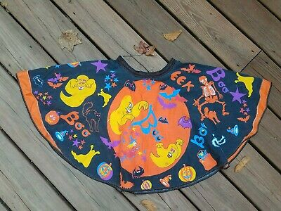 $ CDN18.81 • Buy Vintage HALLOWEEN Costume FABRIC PANEL Moon Witch  MANES CORP. Skirt Completed