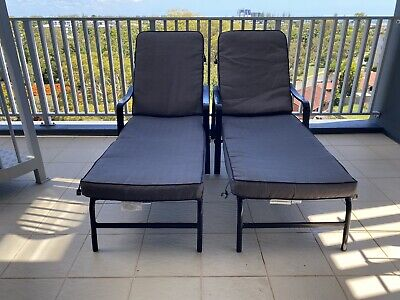 AU100 • Buy 2 Sunloungers With New Cushions