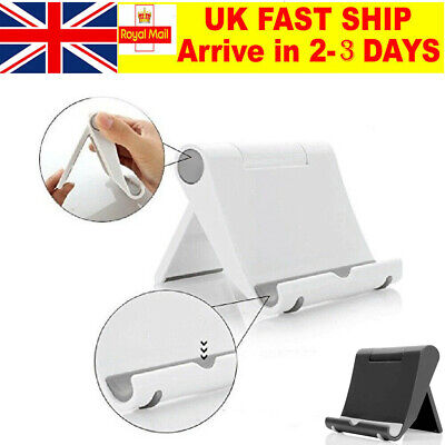 Universal Adjustable Portable Tablet Stand Holder Fits For IPad Mini PhoneUK HOT • 3.08£