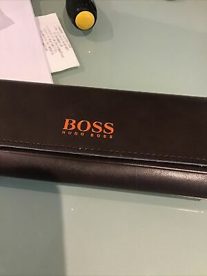 Hugo Boss Glasses Case Brown • 9.90£