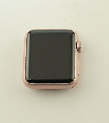 $ CDN106.47 • Buy Apple Series 1 7000 38mm Rose Gold Pink Aluminum GPS Only Watch ; ABTS 479274