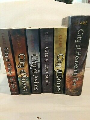 Cassandra Clare Book Lot Mortal Instruments Complete Series 1-6 City Of Bones  • 28.94£