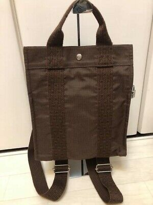 $509.98 • Buy HERMES Her Line Ad MM Backpack · Day-pack Canvas EUC