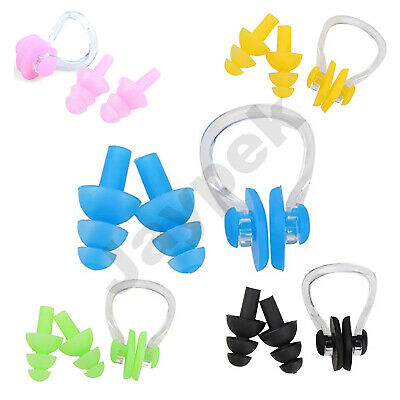BLUE REEF Spring Nose Clip Slightly Sprung Adults Senior Rubber Covered In Case