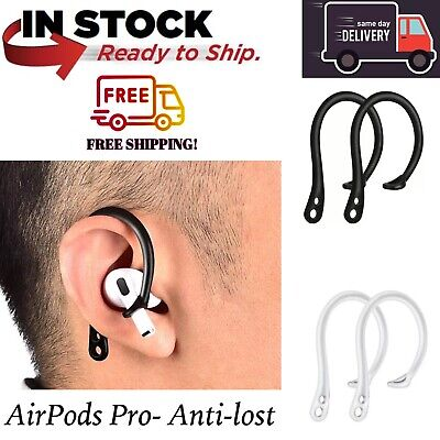 AU9.49 • Buy Silicone Earphone Ear-hook Loop Holder  Anti-Lost Anti-Drop/Fall For AirPods Pro