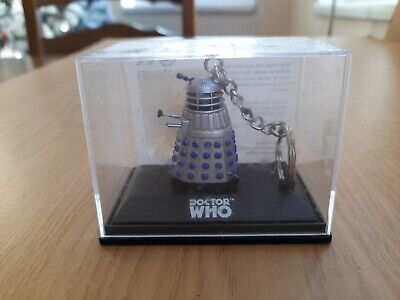 Doctor Who Classic Dalek Die Cast Key Ring New In Display Case (#261) • 7.50£