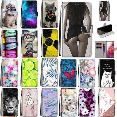 AU12.99 • Buy For Samsung S20 FE Ultra S21 S10 9 Plus Patterned Case Card Wallet Leather Cover