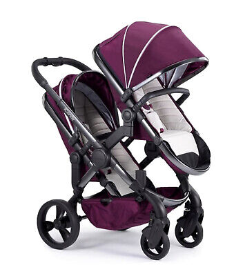 Lovely Icandy Peach Blossom Twin Double Complete Travel Package Inc Carrycots  • 949£