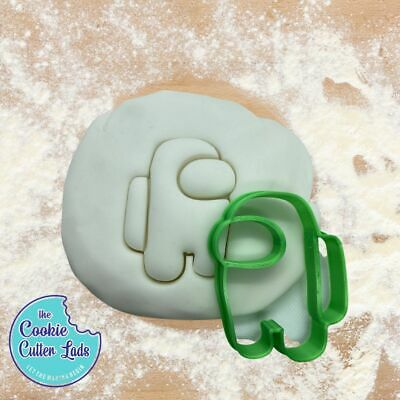 £4.20 • Buy Among Us Cookie Cutter Pastry Biscuit Icing Fondant Baking Gaming Fun