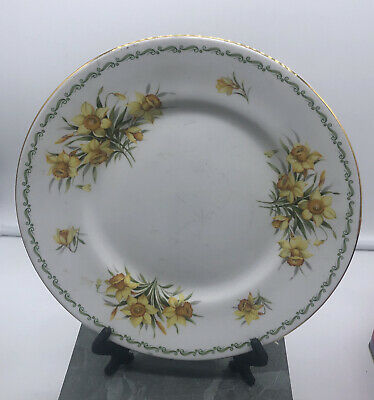 £15 • Buy Vintage Special Flowers Queens Fine Bone China Rosina China Plate Daffodil 22cm