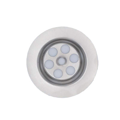 SINK PLUG HOLE COVER 63mm DIAMETER GRILL STEEL REPLACEMENT UNIVERSAL 1¼  BSP  • 5.80£