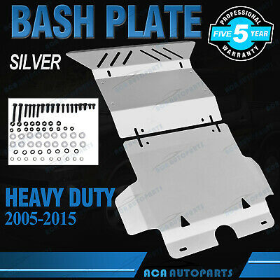 AU139.70 • Buy Steel Bash Plate 3mm Silvery 2pc For Toyota Hilux N70 SR SR5 2005 - 2015