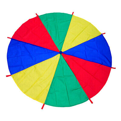 Kids Play Rainbow Parachute Outdoor Game Exercise Sport Toy 2M • 10.13£