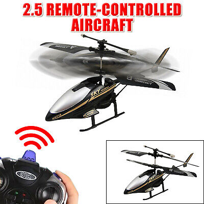 2.5 Channel RC I/R Remote Control Helicopter With Gyro LED Light Mini Drones • 13.71£