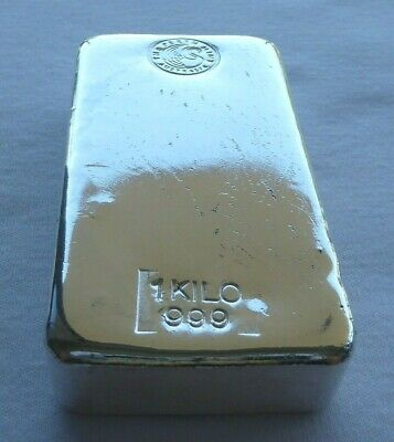 AU1259.90 • Buy 1 KILO PERTH MINT 999 SILVER BAR With FREE EXPRESS POST