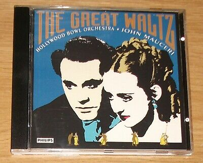 The Great Waltz - Hollywood Bowl Orchestra - John Mauceri PHILIPS CD - AS NEW • 1.99£