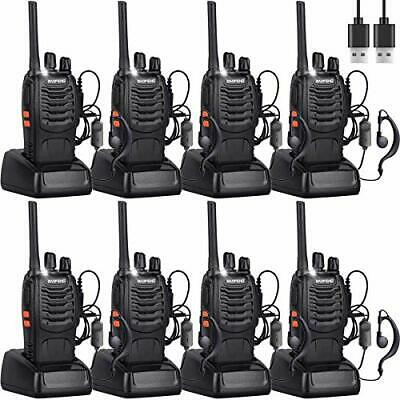 $ CDN201.10 • Buy 8 Nineaccy Walkie Talkies Rechargeable Walkie Talkie Long Range 2 Way Radio Set