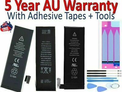 AU12.95 • Buy For IPhone 5S 6 6S 8 7 PLUS High Capacity Battery Replacement Tools For IPhone