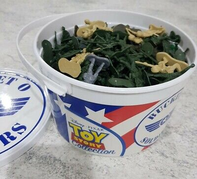 £12.95 • Buy Toy Story Bucket O Soldiers Soldiers Great Condition Disney Pixar Collection
