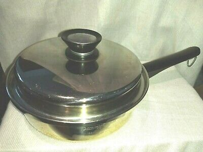 $ CDN24.98 • Buy Amway Queen 18/8 Stainless Steel 1 Quart Sauce Pan 981 KETTLE & LID LOT 2 PIECES