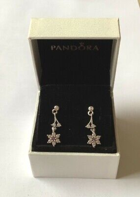 Forget Me Not Drop Earrings In Pandora Gift Box Genuine Sterling Silver S925 • 18.99£