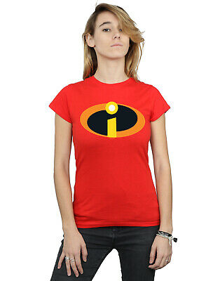Disney Women's The Incredibles Costume Logo T-Shirt • 12.99£